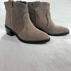 Jeffrey Campbell Konda Ankle Boots Suede Leather